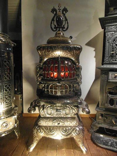 leuchtofen american heating ofen nur zur dekoration. Black Bedroom Furniture Sets. Home Design Ideas